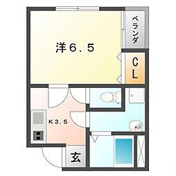 PUCHI HOUSE[1階]の間取り