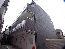 兵庫県神戸市灘区赤坂通7丁目の賃貸アパートの外観
