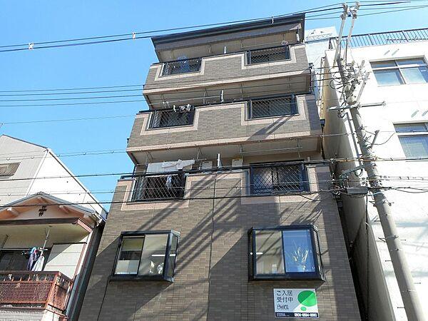 大阪府大阪市港区波除5丁目の賃貸マンションの外観