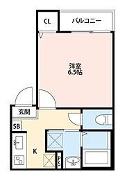 埼玉県さいたま市桜区西堀7丁目の賃貸アパートの間取り