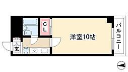都筑マンション[5B号室]の間取り