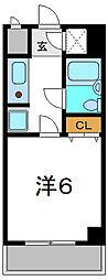 ラフィネ守口[4階]の間取り