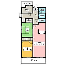 RM2高崎[8階]の間取り