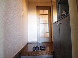 グランシャリオ96の玄関
