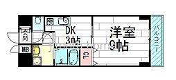 美清館[2階]の間取り