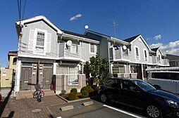 千葉県流山市野々下5丁目の賃貸アパートの外観