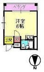 大阪府大阪市城東区関目5丁目の賃貸マンションの間取り