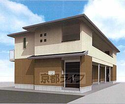 京都府京都市上京区上御霊中町の賃貸アパートの外観