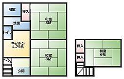 [一戸建] 埼玉県入間郡毛呂山町前久保南3丁目 の賃貸【/】の間取り
