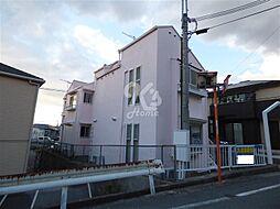 兵庫県明石市東人丸町の賃貸アパートの外観