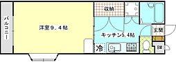 IVYハウス[2A号室]の間取り