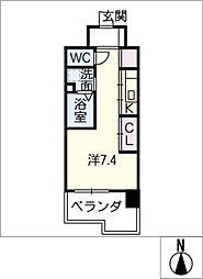 Atrio鶴舞[13階]の間取り