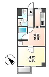 レジデンシア鶴舞(旧サンコート鶴舞)[8階]の間取り