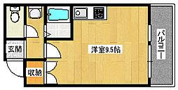 マスターズエル松之浜582[403号室]の間取り