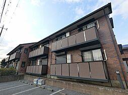 千葉県四街道市めいわ2丁目の賃貸アパートの外観