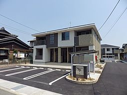 三重県四日市市尾平町の賃貸アパートの外観