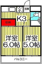 メゾンASAMI[303号室]の間取り