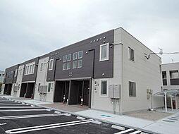 福岡県直方市大字感田の賃貸アパートの外観