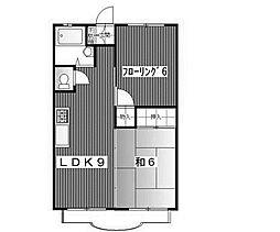 サンホワイトM202[2階]の間取り