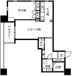 八千代ビルYA55[9階]の間取り