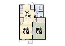 ガーデングローブ[1階]の間取り