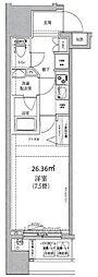 HY's Confront 横濱BAY[11階]の間取り