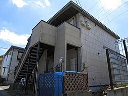千葉県千葉市稲毛区六方町の賃貸アパートの外観