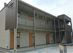 岡山県井原市上出部町の賃貸アパートの外観