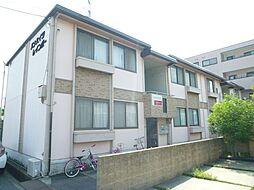 兵庫県姫路市飾磨区中野田2丁目の賃貸アパートの外観