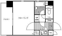 ロマネスク小笹第3[6階]の間取り
