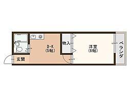 メゾン秋吉[2階]の間取り