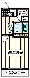 埼玉県さいたま市中央区本町東7丁目の賃貸マンションの間取り