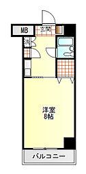 ダイアパレス富士吉原[2階]の間取り
