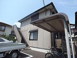 千葉県柏市富里1の賃貸アパートの外観