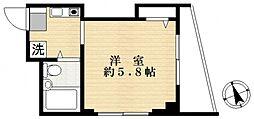 ラーナ一之江[4階]の間取り