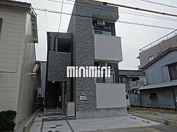 愛知県名古屋市中村区高道町4丁目の賃貸アパートの外観