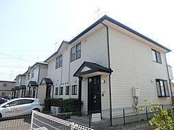 東京都府中市日新町4丁目の賃貸アパートの外観