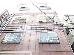 大阪府大阪市中央区高津2丁目の賃貸アパートの外観