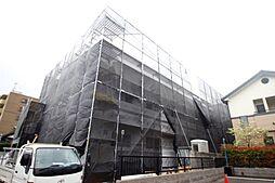 広島県広島市南区東本浦町の賃貸アパートの外観