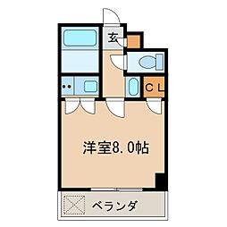 桜マンションII[3階]の間取り