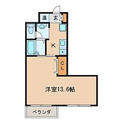 プライムレジデンス泉[6階]の間取り