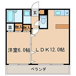 サンアピック[8階]の間取り