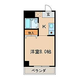 メゾンドエトワール[7階]の間取り