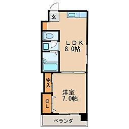 矢場町駅 4.9万円