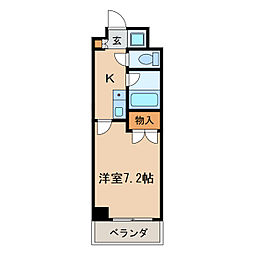 マーベラス新栄[3階]の間取り