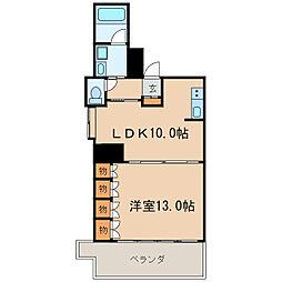 ラディアント ヤバ[2階]の間取り
