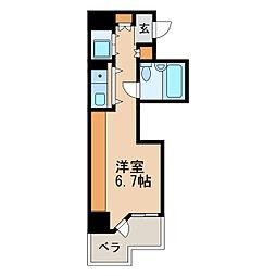 チサンマンション丸の内第6[4階]の間取り