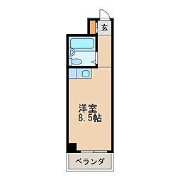 チサンマンション桜通久屋[5階]の間取り