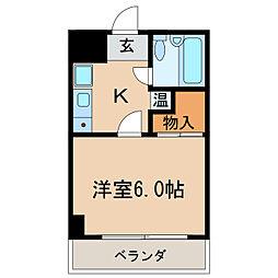 マンションハッピー[5階]の間取り