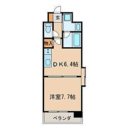 新栄アーバンハイツ[8階]の間取り